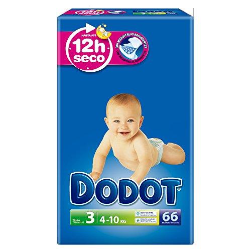 Dodot-Pannolini taglia 3, 4-10 kg, 3 x 66: 198 x