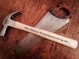 Engraved Wedding Hammer