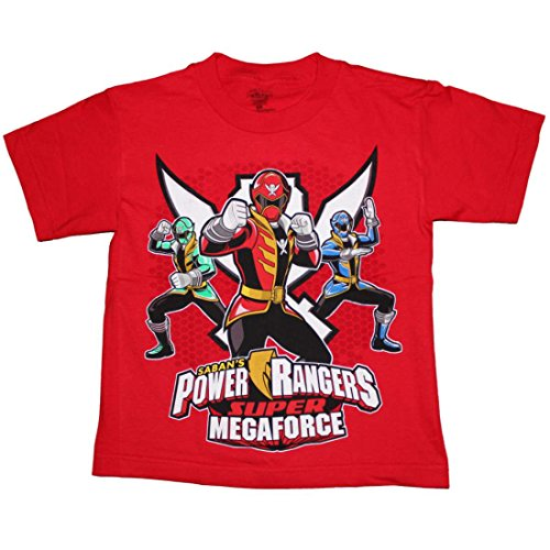 Saban's Power Rangers Super MEGAFORCE Boys T-shirt 4-7