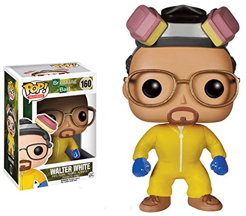 Funko POP Television (VINYL): Breaking Bad Walter White Cook Action Figure - 1