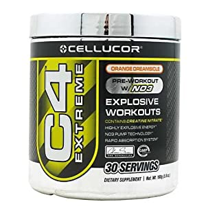 Cellucor C4 Explosive Preworkout Supplement - G3 Chrome Series