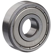 Timken 30 Series Extra Small Ball Bearing, Double Shielded, No Snap Ring