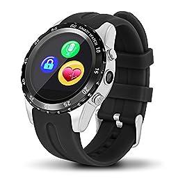 Highsound Heavy Duty Bluetooth Smart Watch (Black-Silver)