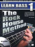 John McCarthy Rock House Method Learn Bass 1 Method for New Generation Bgtr Bk/CD