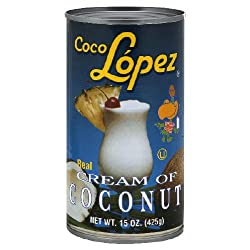 Coco Lopez, Cream Of Coconut, 15 FO (Pack of 12)