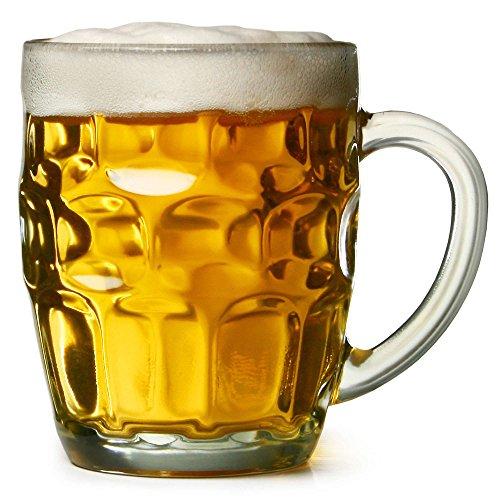 bardrinkstuff-Juego-de-4-jarras-de-cerveza-tradicionales-cristal