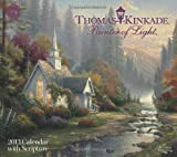 Thomas Kinkade Painter of Light with Scripture 2013 Deluxe Wall Calendar