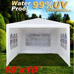Amazon.com : Wedding Party Tent Outdoor Camping 10'x10' Easy Set