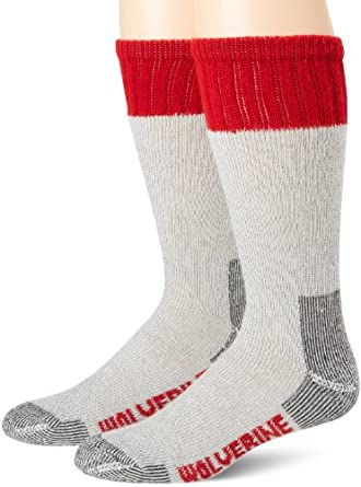 Wolverine Men's Arch Support Hunter, Red, Large