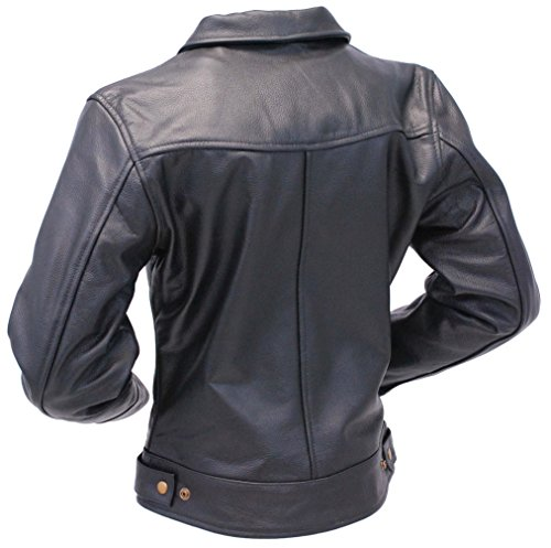 Jamin' Leather Tough Lady Heavy Cowhide Leather Jacket XL