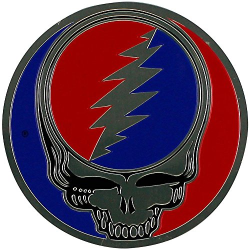 GDP Inc., Grateful Dead, The Classic Steal Your Face Artwork Emblem, Embossed