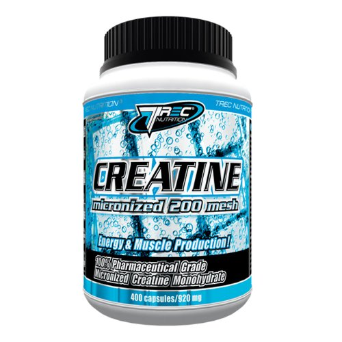 Energy and muscle production - Creatine 60caps -100% Micronized Monohydrate Creatine