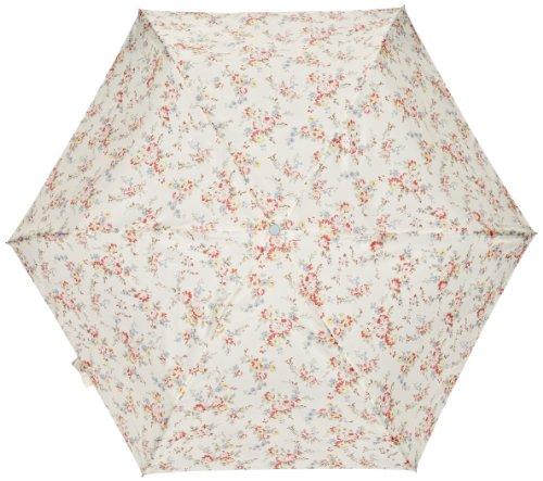 Cath Kidston by Fulton CK Superslim 2 Retro Flowers White Women's Umbrella
