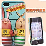 ウサビッチ☆iPhone 4用カスタムカバー(ウサビッチマグショット)