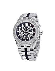 Baldovino Men's 2.85cts Diamonds Studded Watch