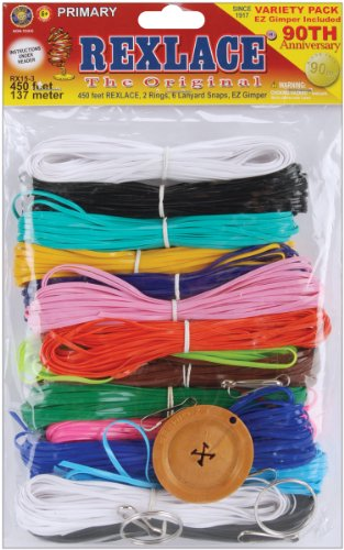 Pepperell Rexlace Plastic Lacing Cord, 450-Feet, Primary - 1