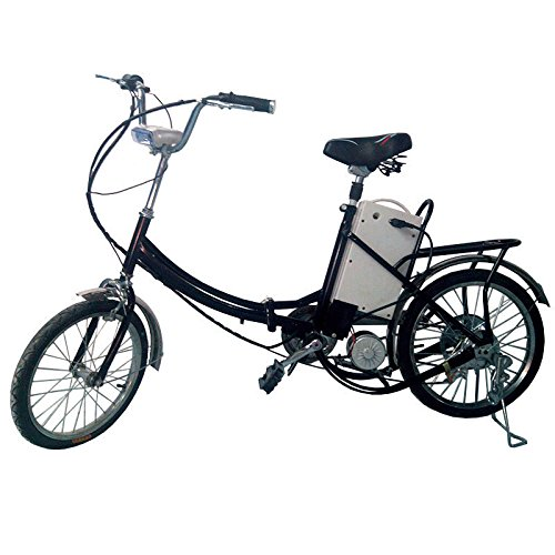 Pequeña bicicleta urbana plegable y eléctrica