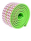 Moolecole 1X Verde Beb� Vidrio Mesa De T� Parachoques Franja Guardia Protecciones Para Bordes y Esquinas Protector De Cojines Cubierta Del Escritorio Guardia De Seguridad Para Ni�os Protecci�n Paragolpes Franja 4m
