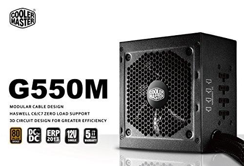 Coolermaster RS550-AMAAB1-EU GM Serie Netzteil (550 Watt)