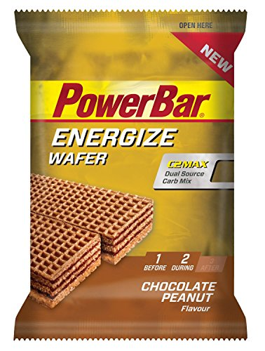 Energize Wafer - Chocolate-Peanut - 40g (Powerbar Energy Wafer compare prices)