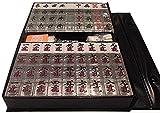 【麻雀牌・マージャンパイ】【透明牌】 透明麻雀牌 1種4牌のうち3牌が透明な特殊牌 標準サイズ
