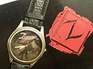 Zorro watch set with Zorro hat stamp Limited Edition