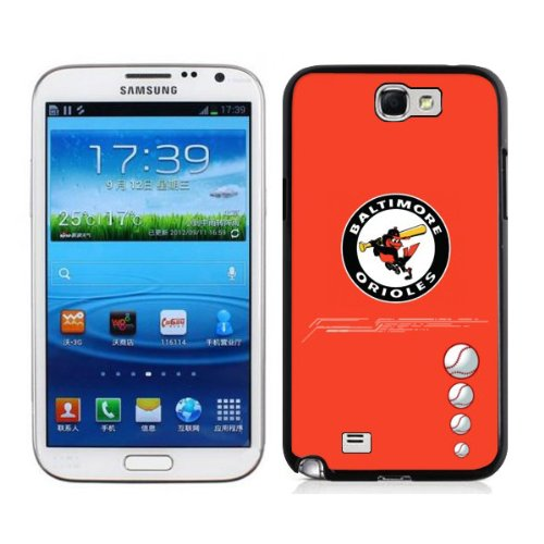 Popular MLB Baltimore Orioles Samsung Galalxy Note 2 N7100 Case Cover For MLB Fans By Xcase at Amazon.com