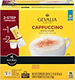 Gevalia Cappuccino Espresso K-Cups and Froth Packets 9-Count