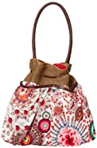 Hot Sale Desigual Handbags Bols Ibizaarqui Dominic 32X5176 Shoulder Bag,Algodon,One Size