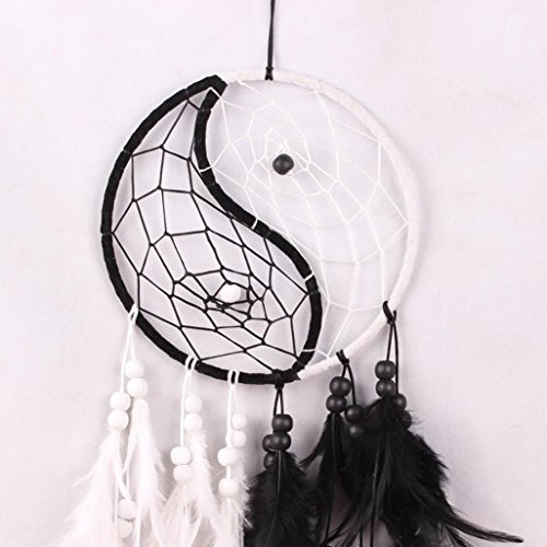 RIUDA Dream Catcher with Feathers Hanging