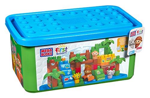 Mattel Mega Bloks First Builders DCL33 Themenbox - Großer Zoo / Safaripark