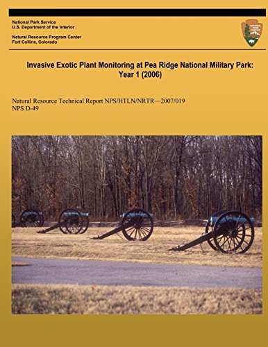 Invasive Exotic Plant Monitoring at Pea Ridge National Military Park: Year 1 (2006): Natural Resource Report Nps/Htln/Nrtr?2007/019