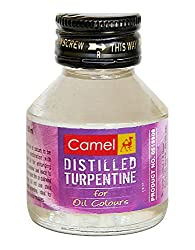 Camel Distilled Turpentine - 60ml bottle