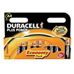 Duracell MN1500B12 Plus Power AA Size...