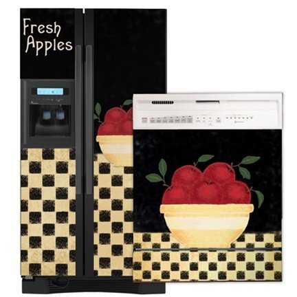 Appliance Art Refrigerator Cover