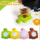 USB Cup Tea Coffee Heater Mug Warmer Stand Heater Keep Your Drink Warm (blue)