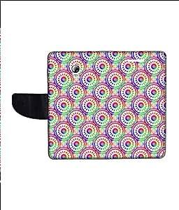 KolorEdge Printed Flip Cover For Lenovo P1 Multicolor - (1479-55KeMLogo12246LenovoP1)