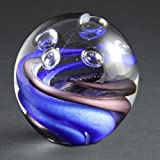 Orb Art Glass Award 3.3in Trade Show Giveaway