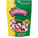 Dingo Goofballs Chicken & Rawhide Chews, Small, 15-Count