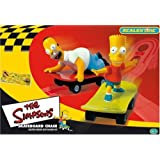 Micro Scalextric G1017 The Simpsons 1:64 Scale Race Setsby Micro Scalextric