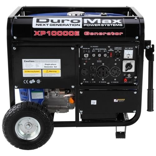 Sturdy 10000 Watt 18 hp Portable Gas Electric Start Generator Home - P4 (Portable Generator Shelter compare prices)
