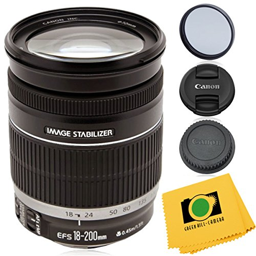 Canon EF-S 18-200mm f/3 5-5 6 IS Zoom Lens (white box*) for