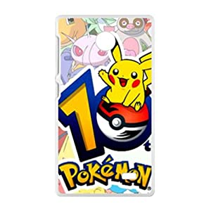 Pikachu Cell Phone Case for Nokia Lumia X: Cell Phones & Accessories