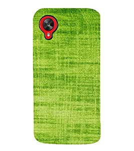 EPICCASE Leaf green Mobile Back Case Cover For LG Google Nexus 5 (Designer Case)