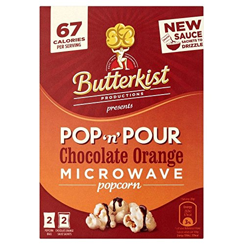 Butterkist Pop & Pour Microwave Popcorn - Chocolate Orange (220G)