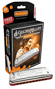 HOHNER Golden Melody/C 10ホールハーモニカ