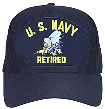 Amazon Com U S Navy Seabee Retired Ball Cap Clothing