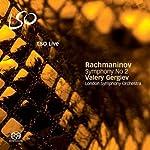 ラフマニノフ:交響曲第2番 ホ短調 Op.27 (完全全曲版) Rachmaninov : Symphony No 2 / Valery Gergiev  London Symphony Orchestra (2008 Live) [SACD Hybrid]