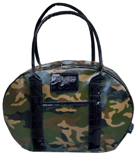 Two Lumps of Sugar Bowler Lunch Bag, Camo - 1
