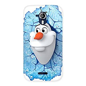 AJAYENTERPRISECool Froze Cart Back Case Cover for Micromax Canvas Magnus A117